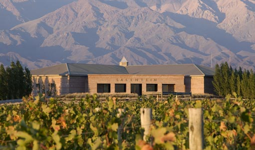 Bodegas Salentein in the Uco Vally, Mendoza, Argentina. Image courtesy Salentein.