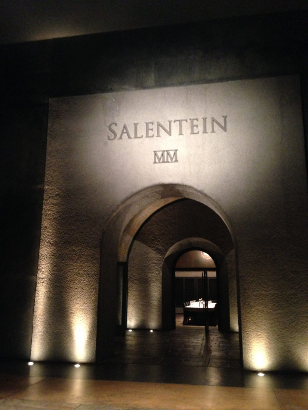 Bodegas Salentein in the Uco Vally, Mendoza, Argentina. Photo by Gloria J. Chang.