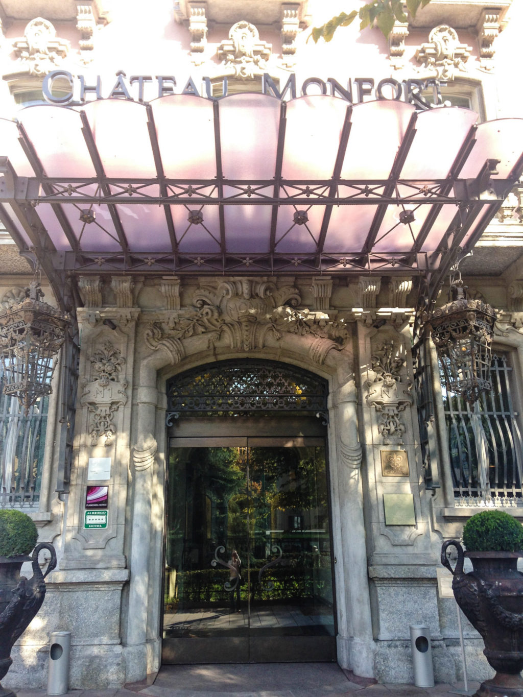 Château Monfort in Milan, Italy. Photo by Gloria J. Chang.