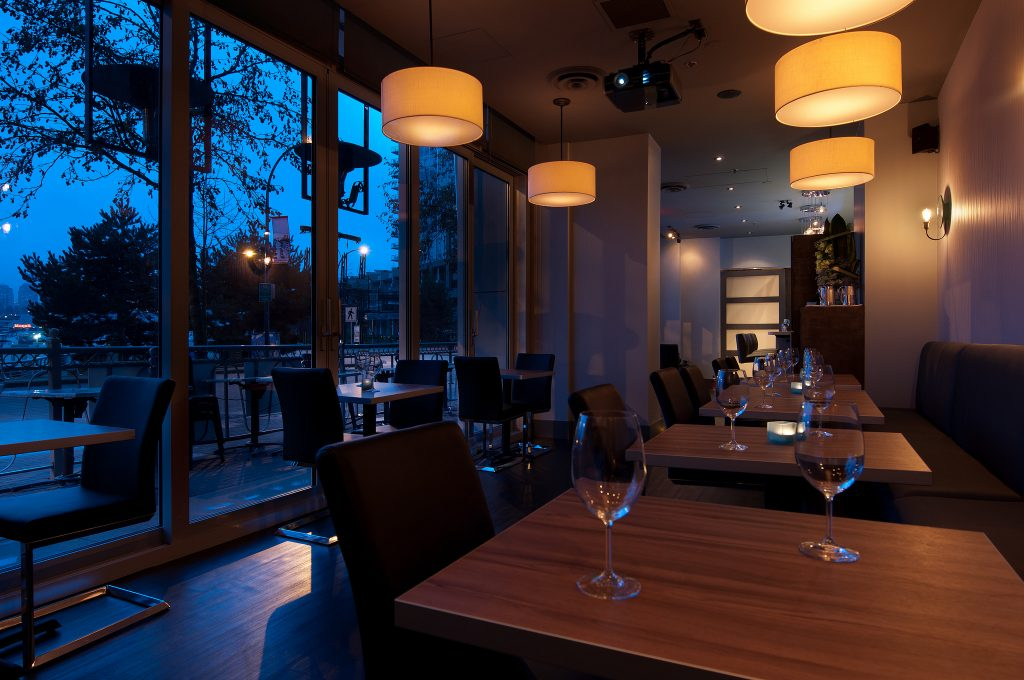 The Wine Bar at Provence Marinaside, Vancouver, Canada